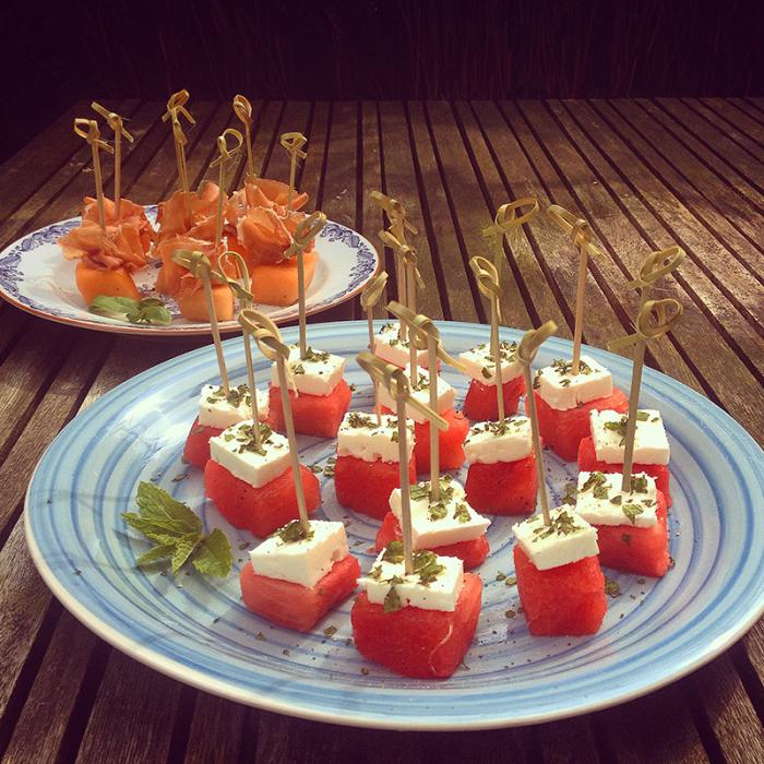 Favoriete tapas met meloen en ham - Naar Eigen Smaak #FW49
