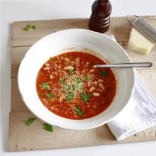 minestrone met prei en canellibonen