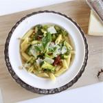 pasta-met-courgette-en-Parmezaanse-kaas