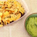 ovenschotel met gehakt en tortillachips-inzet