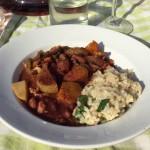 chili sin carne met risotto naareigensmaak