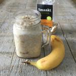 Overnight oats met banaan