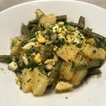citroen-aardappelsalade met ei en ansjovis naareigensmaak
