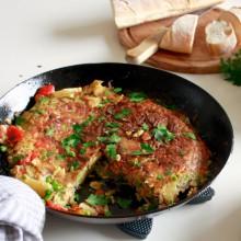 Spaanse-tortilla-met-aardappel-zalm-en-erwtjes