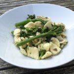 snelle pasta met bimi en ansjovis