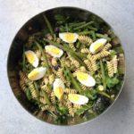 pastasalade met tonijn en sperziebonen naareigensmaak