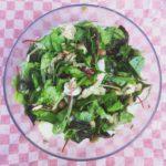 Salade met bonen en makreel